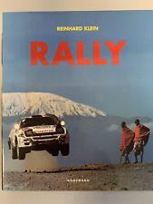 HARDCOVER RALLY BOOK 1998 REINHARD KLEIN KONEMANN NEW!!