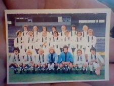 card ED.  FHER 1975 never used BORUSIA MOENCHENGLADBACH ALEMANIA  OCC   TEAM