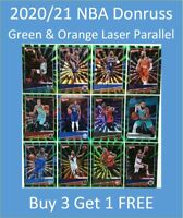 2020/21 Donruss NBA Laser Parallel Buy 3 Get 1 FREE e.g. LaMelo, LeBron, Zion