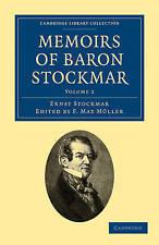 Memoirs of Baron Stockmar (Cambridge Library Collection - British and Irish Hist