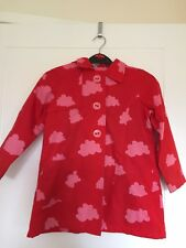 Girls Next Red & Pink Coat Size 5-6 Years