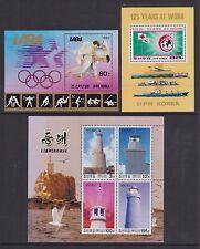 Corea-MSN 2365, 2753,4379 - U/M-Olympic, Cruz Roja, faros 1983/88/2004