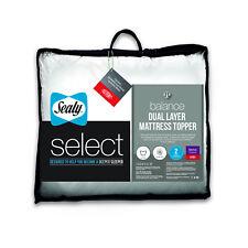 Sealy Select Balance Dual Layer Mattress Topper Single Double King Super K