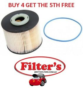 FUEL FILTER FOR PEUGEOT 308 2.0L HDi DW10CTED4 4CYL T7 CC TURBO DIESEL 2011 - ON