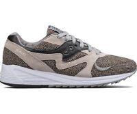 Saucony Originals Grid 8000 Cl Ht Tailored Grey Black Men New Shoes S70352-1