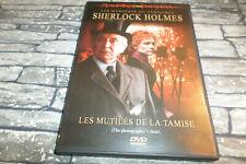 LES MYSTERES  SHERLOCK HOLMES LES MUTILES DE LA TAMISE  / IAN RICHARDSON DVD