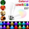 10W E27 RGBW LED Birne 16 Farbwechsel Glühbirne mit Fernbedienung Kontrollierte