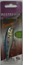 "USA SHIP 4.25"" LONG Fishing Lures Crankbait Minnow Baits Tackle (S Blue)"
