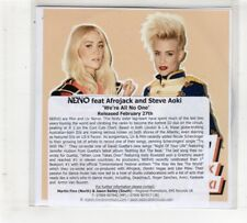 (HM689) Nervo, We're All No One ft Afrojack & Steve Aoki - DJ CD