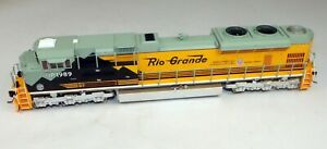 MTH #80-2010-1 SD70ACe Powered Diesel Locomotive DRGW #1989 DCCSND 1/87 HO Scale