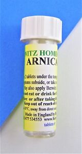 Arnica Homeopathy Remedy for bruising sprains and pre/post op care 6c 30c 200c