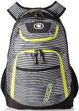 """OGIO 111078-781 Tribune Blinders Green 17"""" Laptop Tablet bag Backpack stripes"""