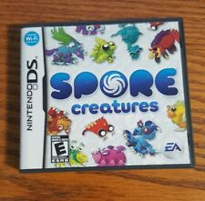 Spore Creatures (Nintendo DS, 2008) Complete ~ Free Shipping ~ Wifi Connection