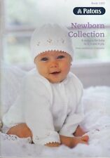 PATONS - NEWBORN COLLECTION PATTERN BOOK #1303