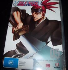 Bleach 05 Agent of The Soul Reaper (Australia Region 4) Anime DVD – Like New
