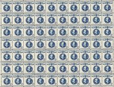 1960 - THOMAS MASARYK - #1147 Fault-Free Mint NH Sheet of 70 Postage Stamps