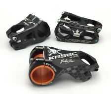 KRSEC 31.8* 0° 45/50mm -17° 60mm Stem MTB DH XC Road Bike stems Aluminium Black