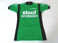 NOS Vintage 1970s STOOF AUTOBANDEN Campitello Belgian cycle jersey (Green) Small