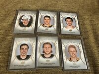 18-19 UD series 1 UD Portraits 6 card Lot-Donato Crosby Guentzel Barzal ++