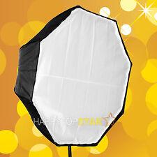 "80cm / 31.5"" Octagon Umbrella Soft box Brolly Reflector for CFL Flashgun Strobe"