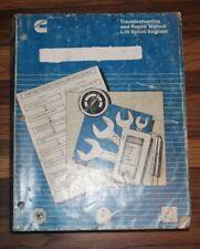 Cummins L10 series Engines Troubleshooting and Repair Manual  3810246-03