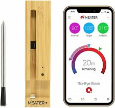 New listing Meater Plus 165ft Long Range Smart Wireless Meat Thermometer with Bluetooth for