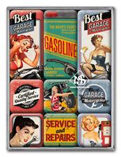 Nostalgie Magnet-Set - Best Garage