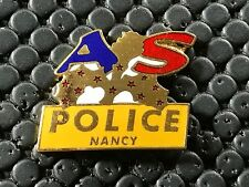 PINS PIN BADGE ARMEE MILITAIRE AS POLICE NANCY