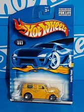 Hot Wheels 2001 Mainline #097 Anglia Panel Yellow w/ 5SPs