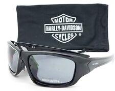 NEW Harley Davidson Men's Sport Wrap Sunglasses HD0125V 01A Black AUTHENTIC HD