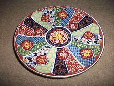 JAPONAIS IMARI Ware décoratif Plaque en exc. état-Coloré-Diamètre 16 cm