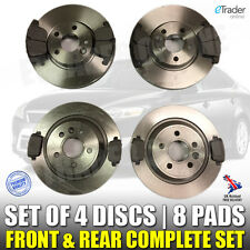 For FORD MONDEO MK4 BRAKE DISCS AND PADS 07- 15 2.0 TDCi FRONT & REAR SET BRAKES