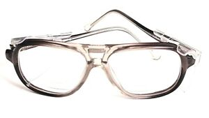 American Optical AO Safety F6000 Clear Aviator Safety Eyeglasses w Clear Shields