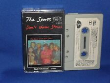 THE SPORTS DON'T THROW STONES - RARE AUSTRALIAN CASSETTE TAPE