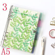 6pcs/set A5a6 Planner 6 Holes Color Index of Notebook Pages Paging Separator 2 A6