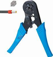 Self Adjusting Ratcheting Ferrule Crimper Plier HSC8 16-4 4-16 mm² mm2 AWG12-6