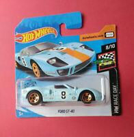HOT WHEELS - FORD GT 40 - HW RACE DAY - SHORT CARTE - GHC55 - R 6186