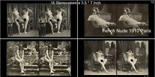 16 artful Stereoviews french Nude 1910 France - Paris (Lot 12)