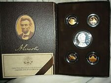 Vintage 2009 Lincoln Coin and Chronicles Set Proof with Box and COA
