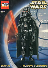 "Lego - Star Wars - ""DARTH VADER"" - Manuale d'istruzioni - 8010 - 9+"