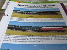 Modellbahn Schritt für Schritt 8 Betrieb Personenzüge DR der 80er Jahre