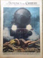 La Domenica del Corriere 12 Ottobre 1952 Cobb Loch Ness Atomica Alassio Trieste