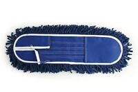 "Industrial 24"" Flat Swivel Floor Mop Laminate Wood Tile Mop Cleaner Refill Head"