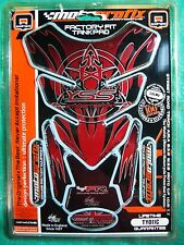 NEW Motorcycle Gas Tank Protector Pad MotoGrafix TY011C YSS Red/Black
