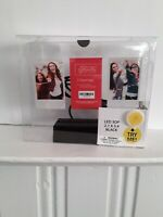 Light Up  Gallery Picture Frame.- 3 Openings - LED 3 OP - 2.1 x 3.4 Black