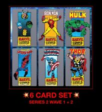 6X Topps MARVEL Collect Digital Trader CORNER BOX series 2 FULL SET six card LOT