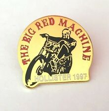 Hells Angels Vintage pin 50th Anniversary Hollister 1997 BRM