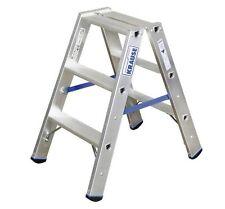 Krause 124715 STABILO Stufen-DoppelLeiter 2 x 3 Stufen Doppel Leiter 0,7 m