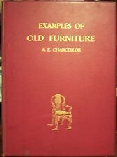"""""""Examples of Old Furniture, English and Foreign"""" 1898"""
