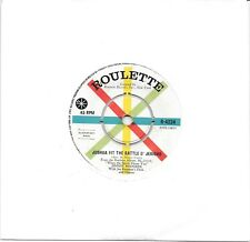 """JIMMIE RODGERS - JOSHUA FIT THE BATTLE O' JERICHO - 7"""" 45 VINYL RECORD - 1960"""